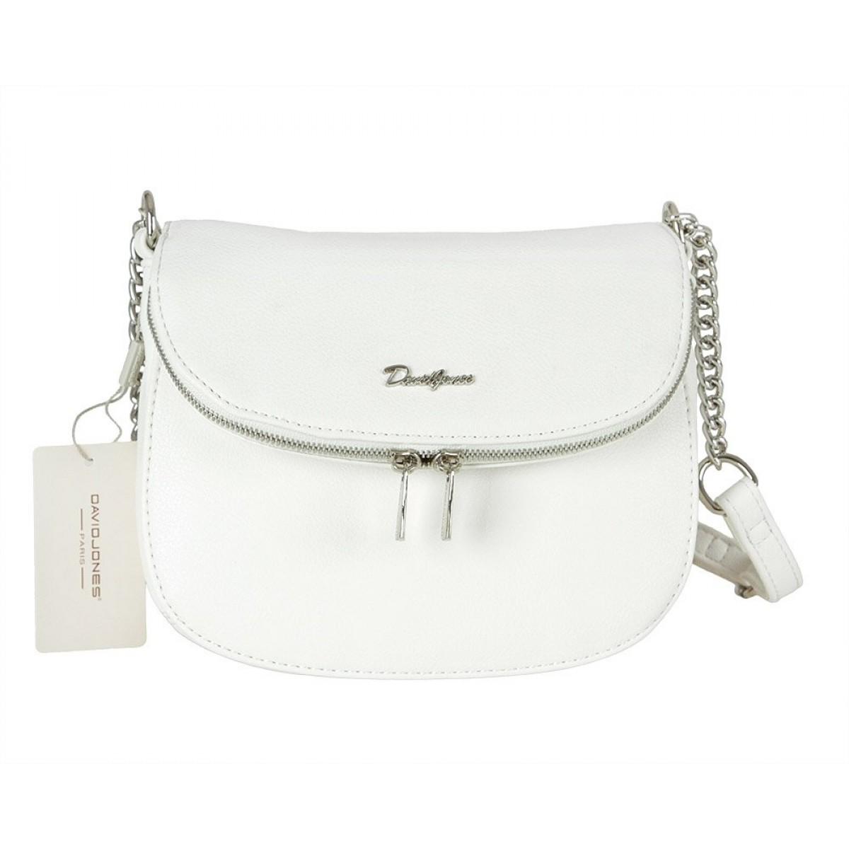 Жіноча сумка David Jones 6200-1A WHITE