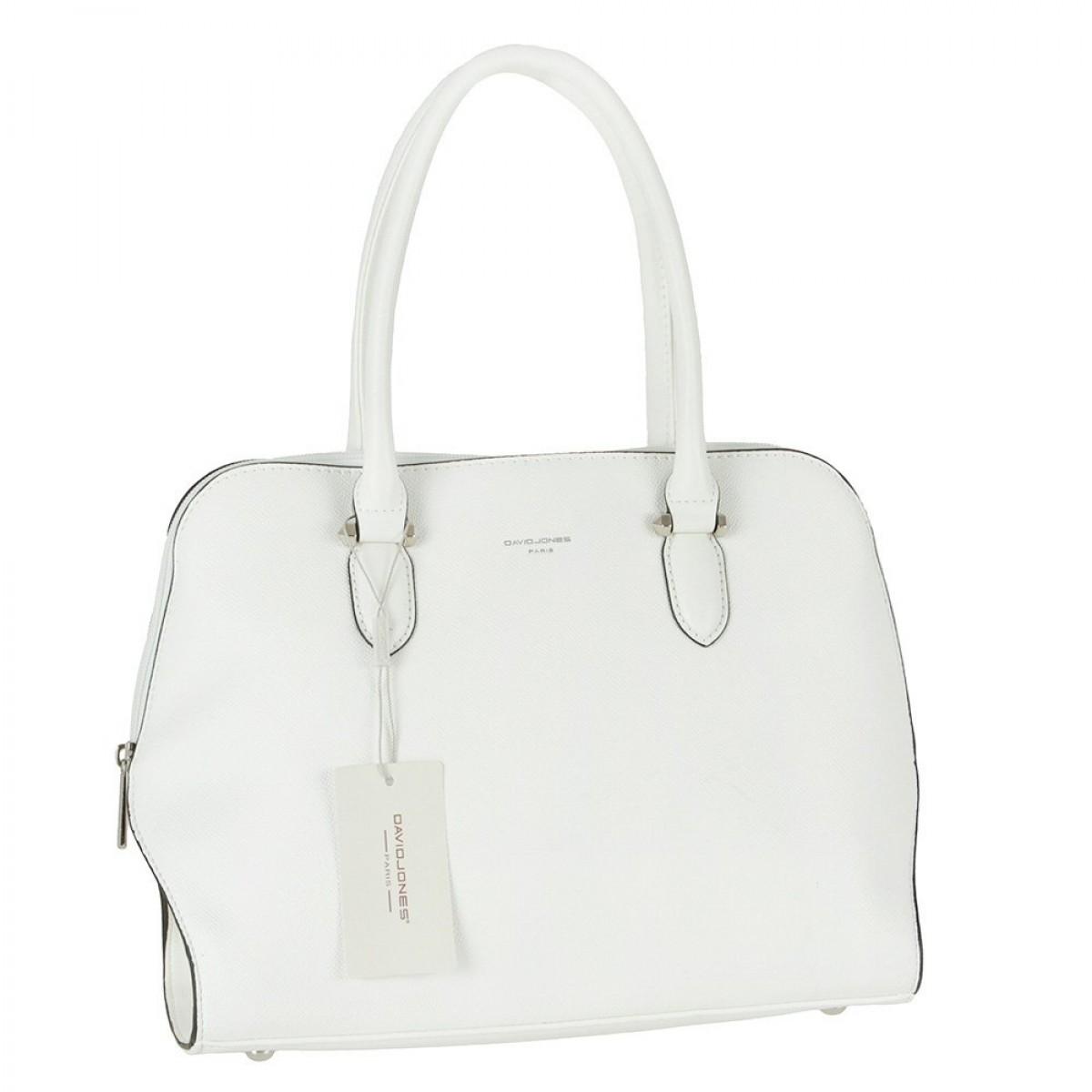 Жіноча сумка David Jones 6248-2A WHITE