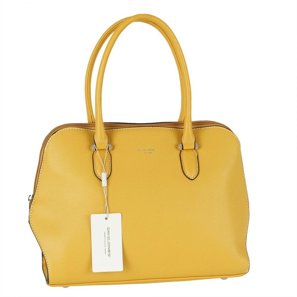 Жіноча сумка David Jones 6248-2A YELLOW