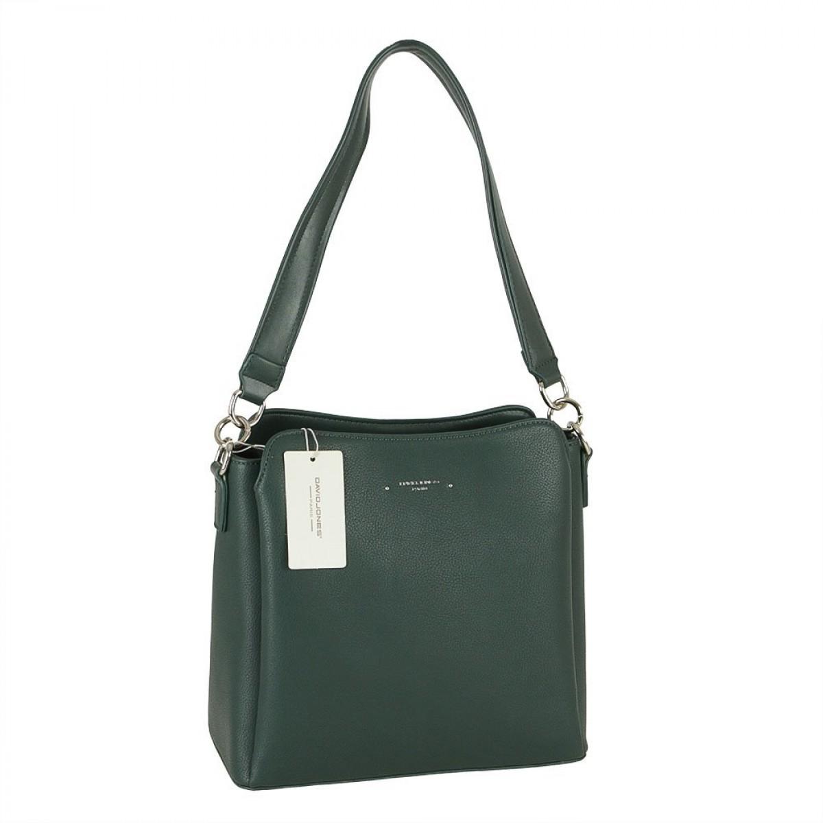 Жіноча сумка David Jones 6417-2A D.GREEN