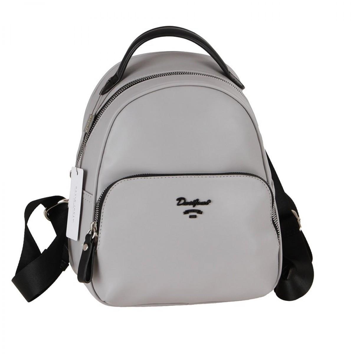 Жіночий рюкзак David Jones 6513-3A L.GREY