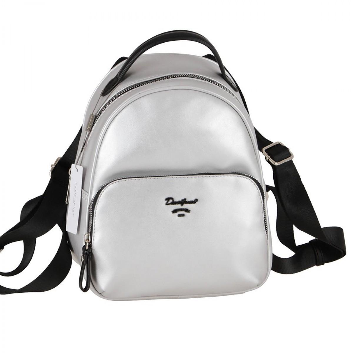 Жіночий рюкзак David Jones 6513-3A SILVER