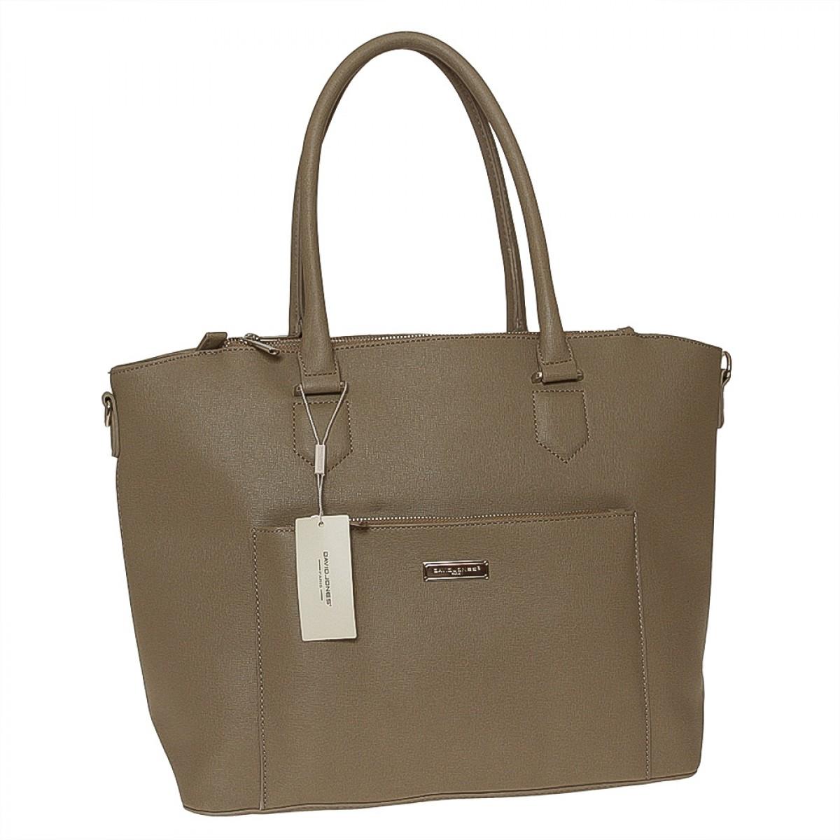 Жіноча сумка David Jones  5226-2 D.CAMEL