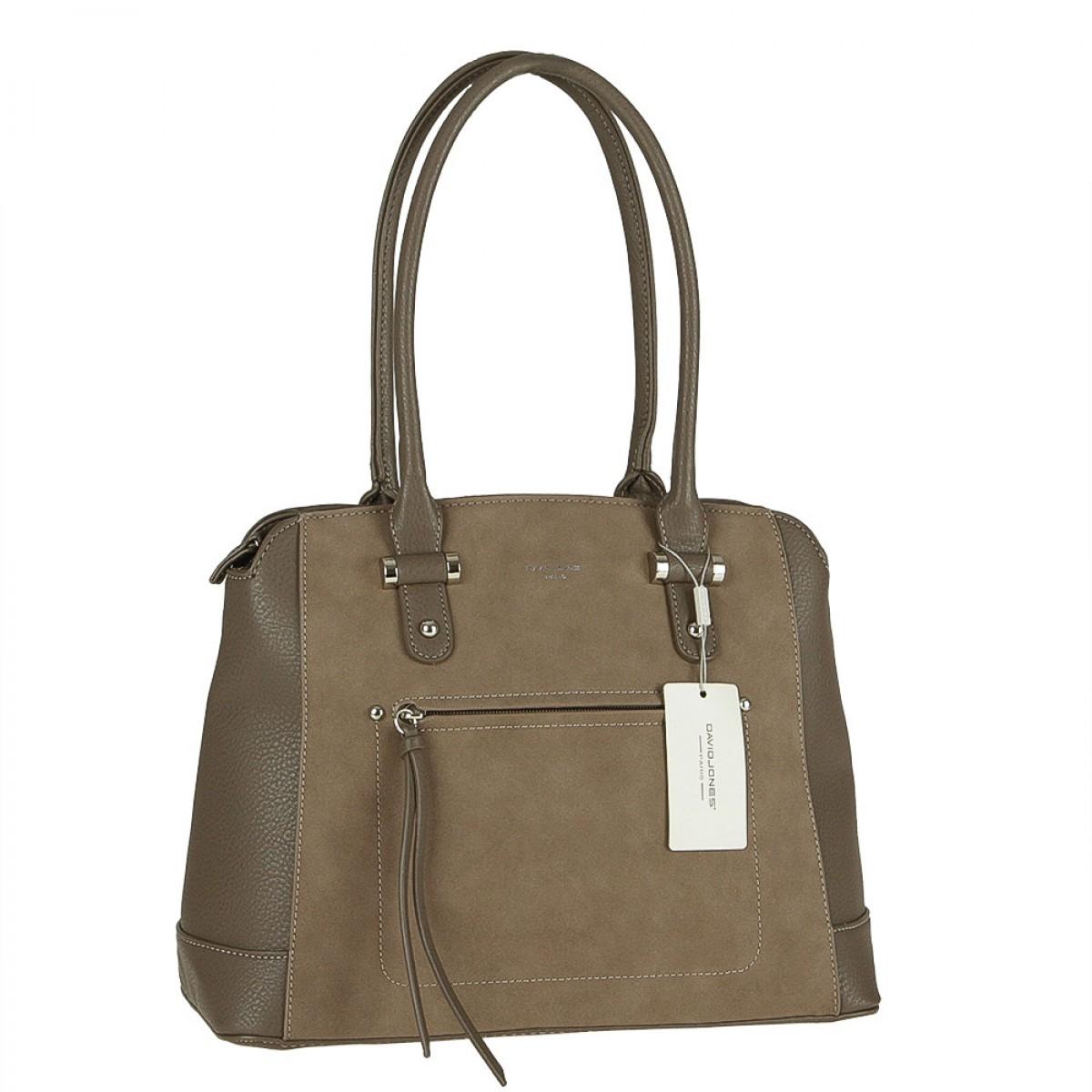 Жіноча сумка David Jones 5556A-1 D.TAUPE
