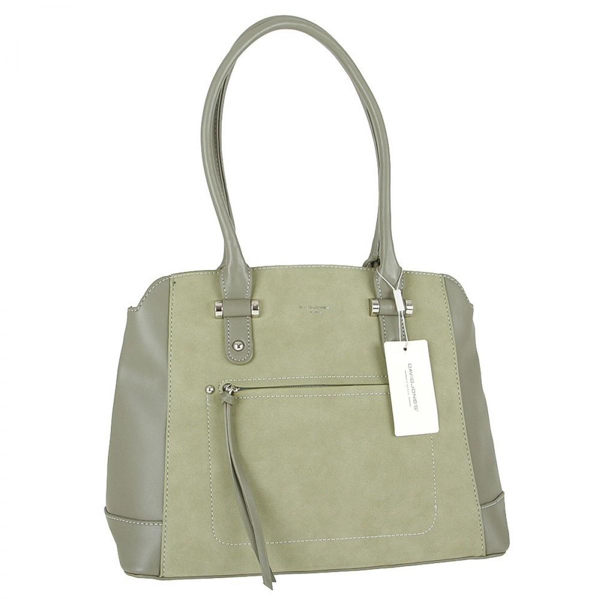 Жіноча сумка David Jones  5556B-1 KHAKI
