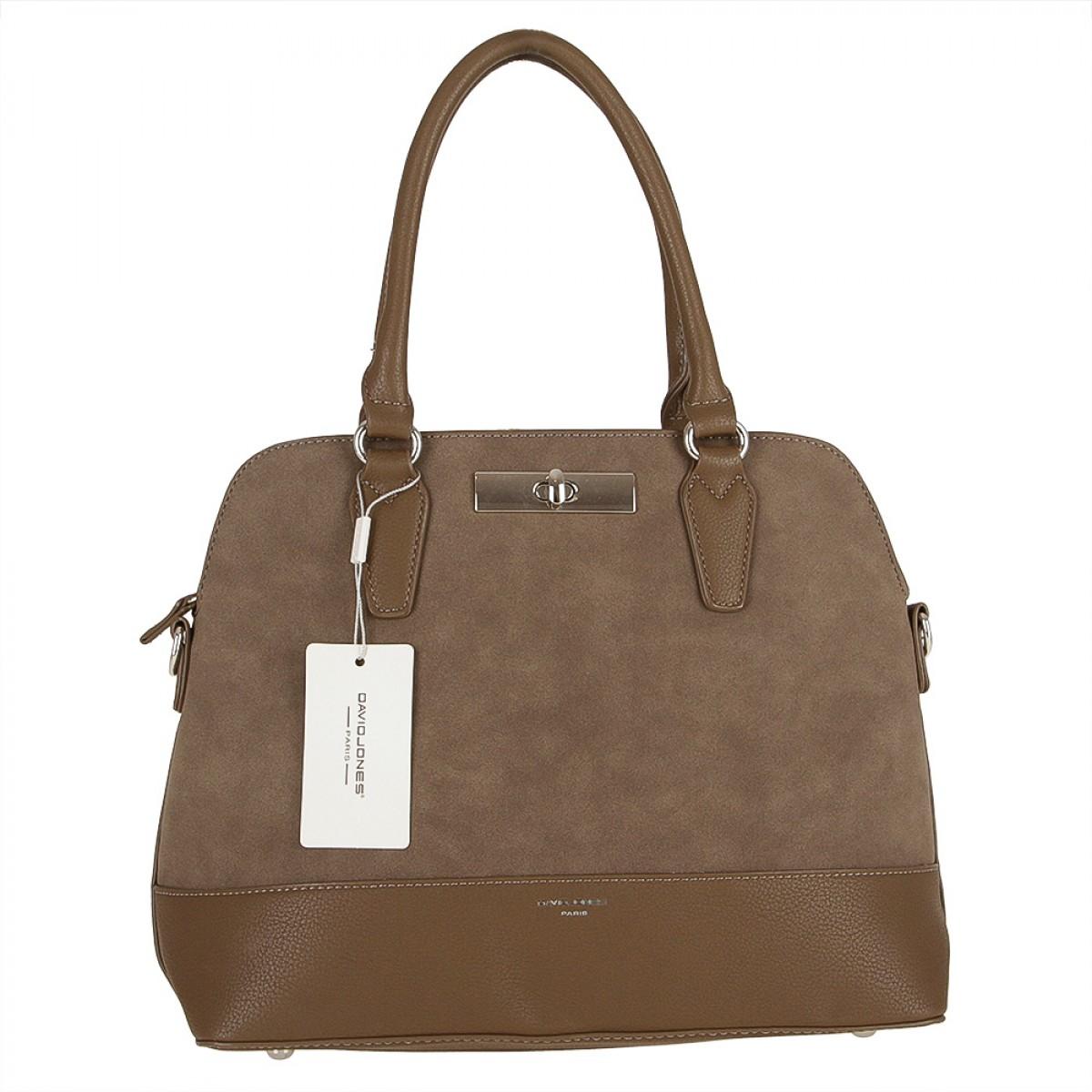 Жіноча сумка David Jones 5608-1 D.TAUPE