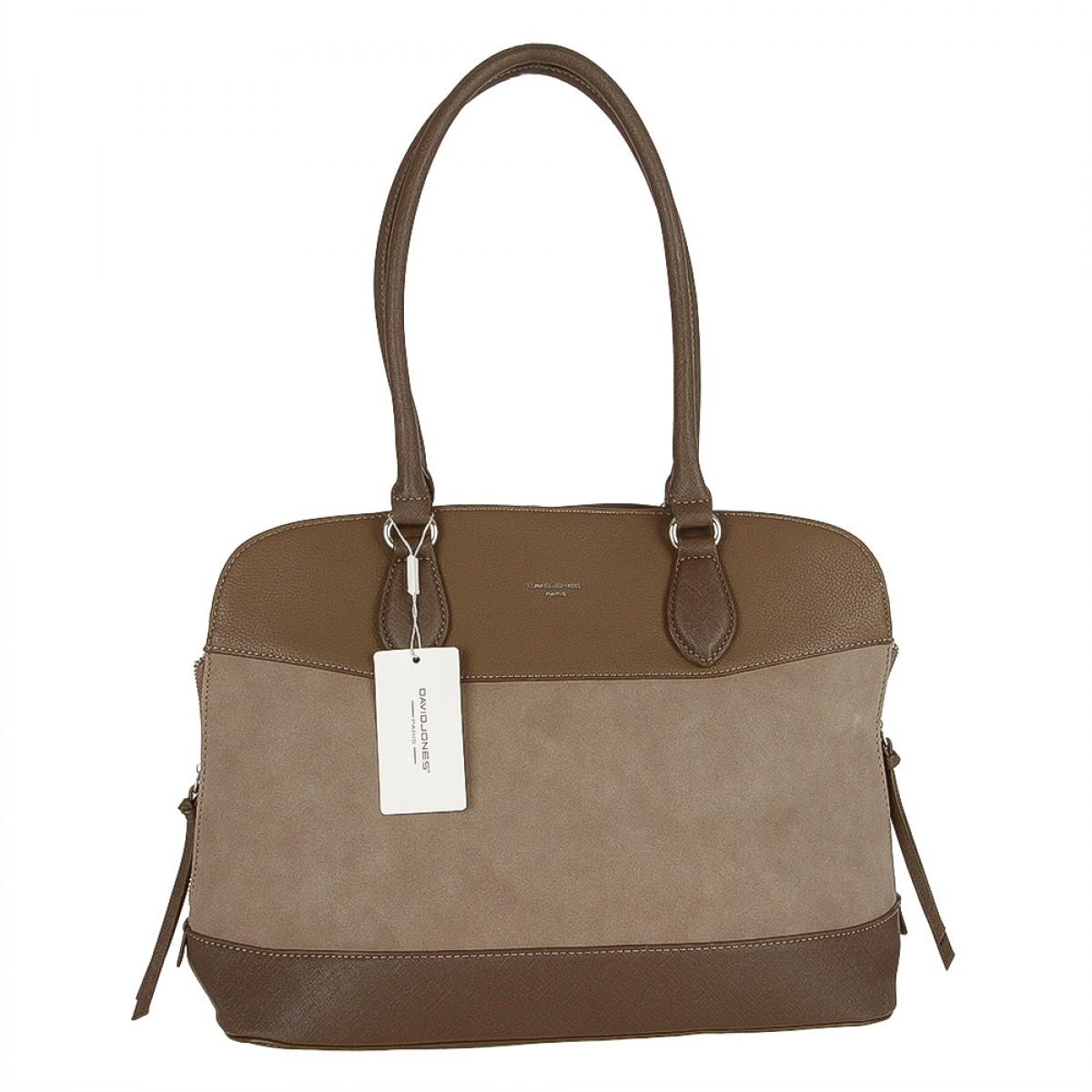 Жіноча сумка David Jones 5616-2 D.CAMEL