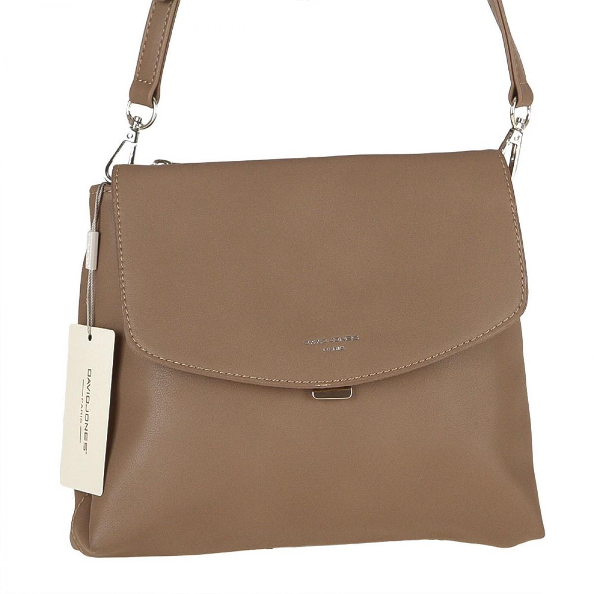 Жіноча сумка David Jones 5619-1 D.CAMEL