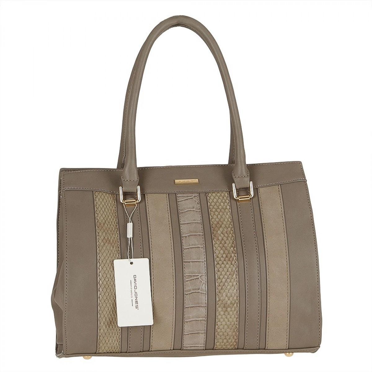Жіноча сумка David Jones 5622-2 TAUPE