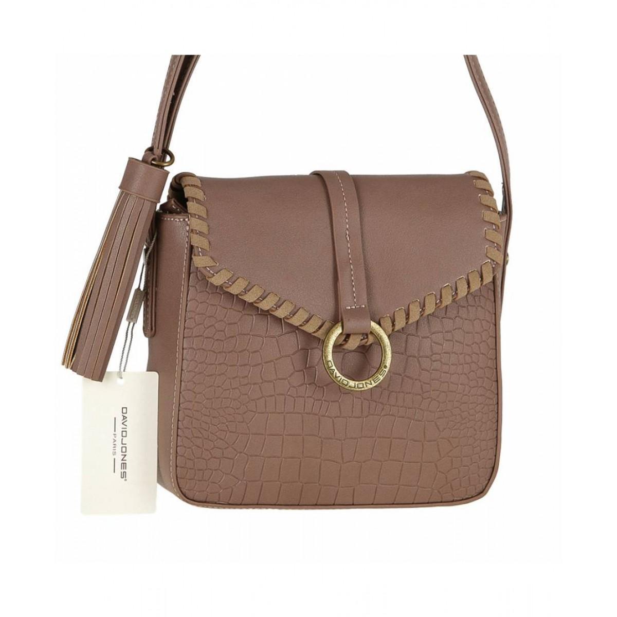 Жіноча сумка David Jones 5630-1 PINK
