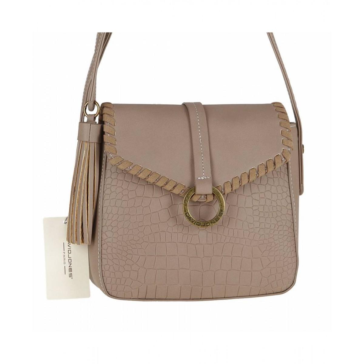 Жіноча сумка David Jones 5630-1 CAMEL