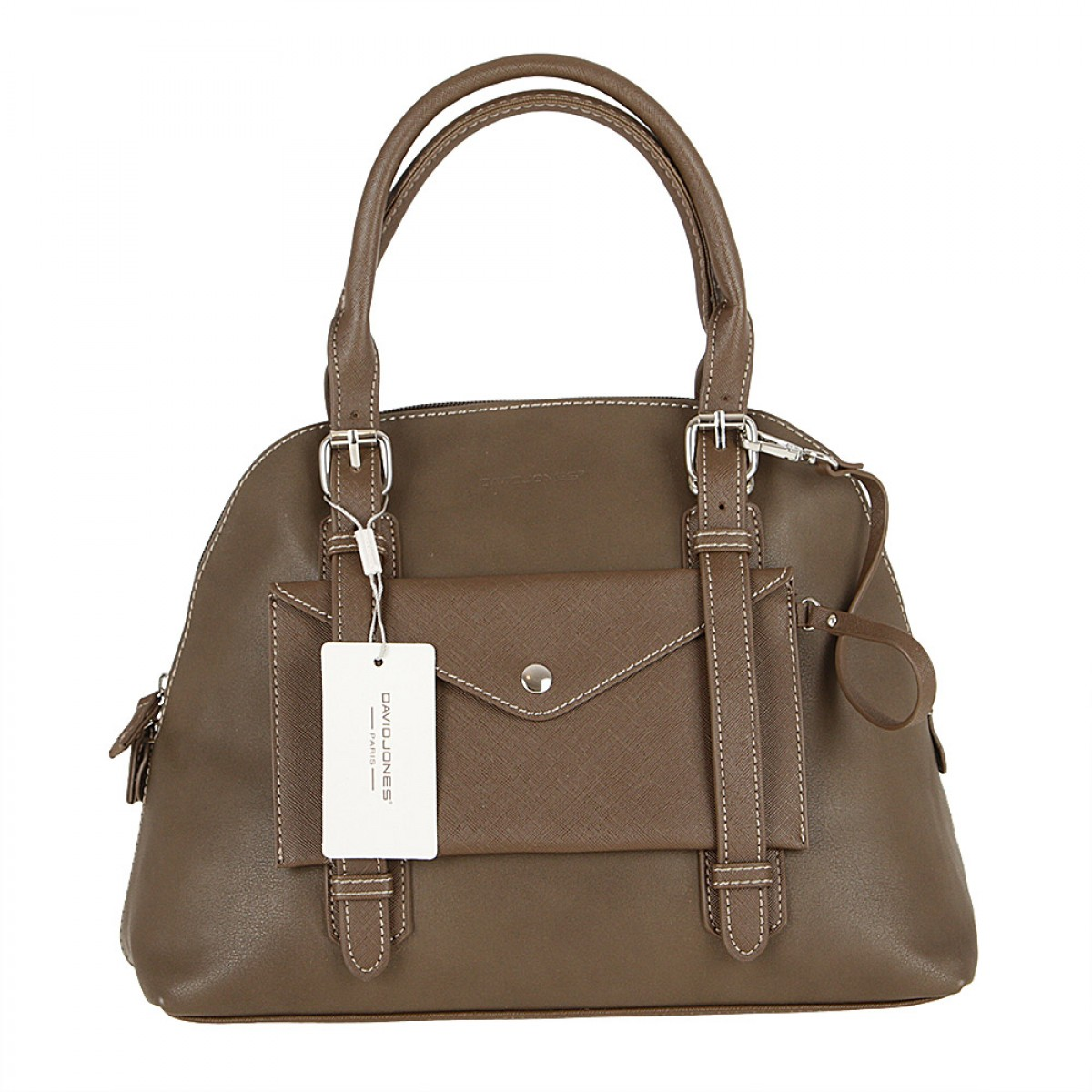 Жіноча сумка David Jones 5633-2 D.TAUPE