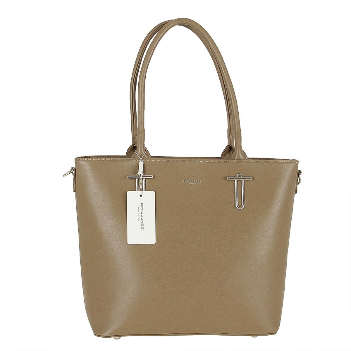 Жіноча сумка David Jones 5643-2 KHAKI