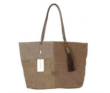 Жіноча сумка David Jones 5646-2 D.TAUPE