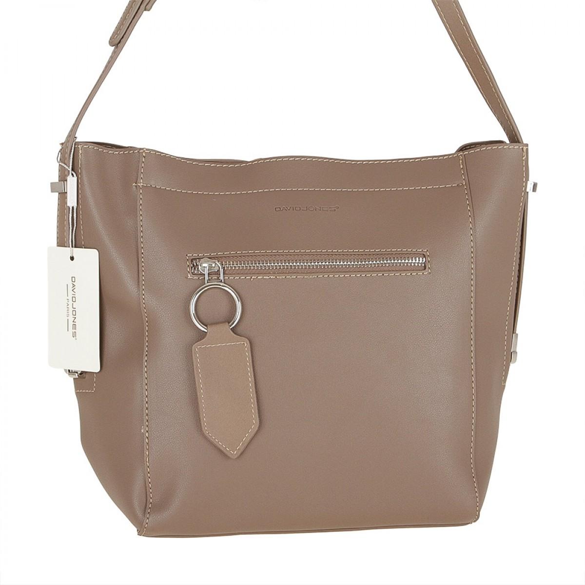 Жіноча сумка David Jones 5669-1 D.CAMEL