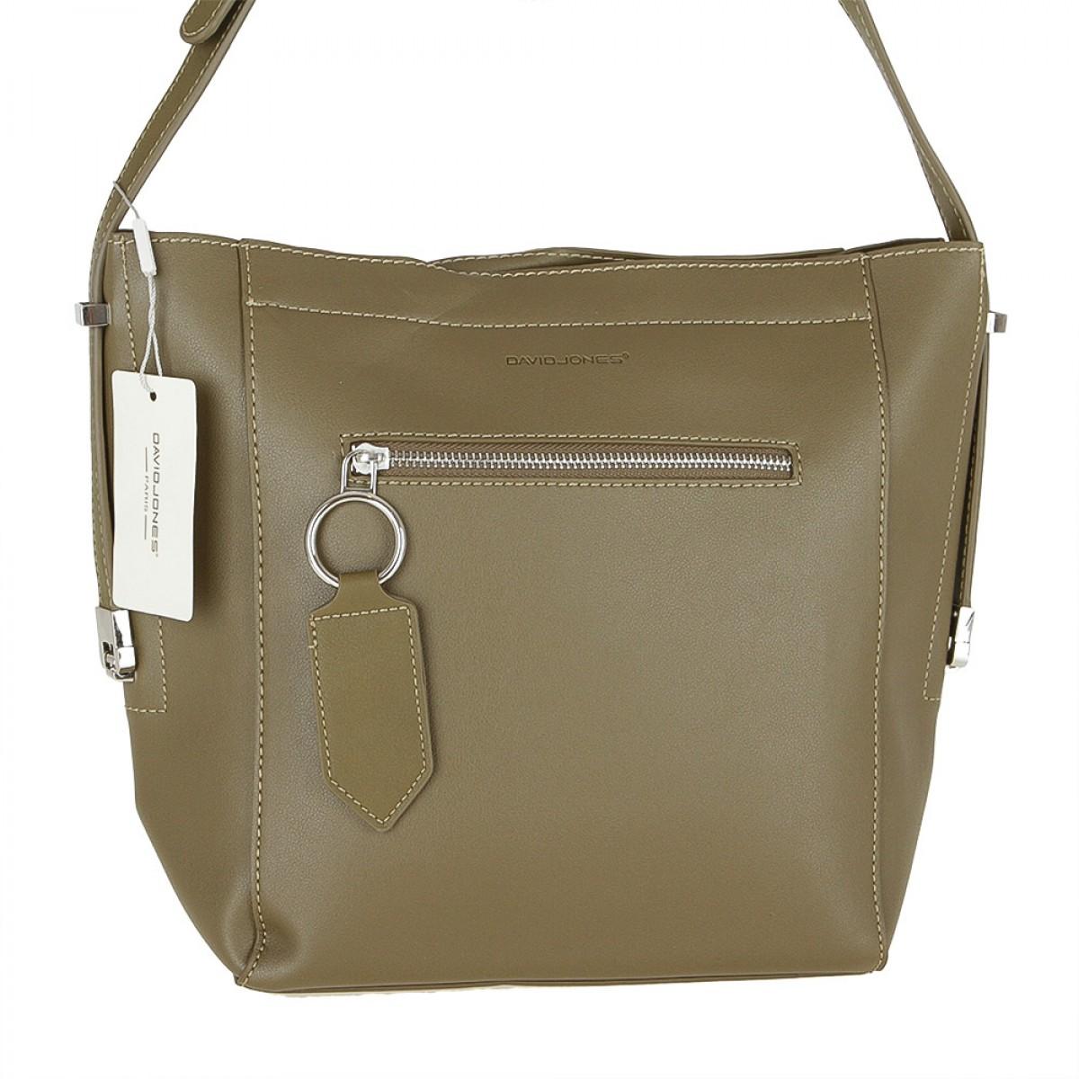 Жіноча сумка David Jones 5669-1 KHAKI