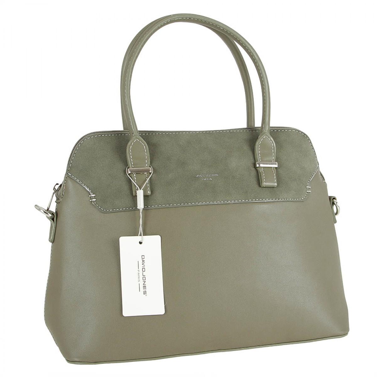 Жіноча сумка David Jones 5802-2A KHAKI
