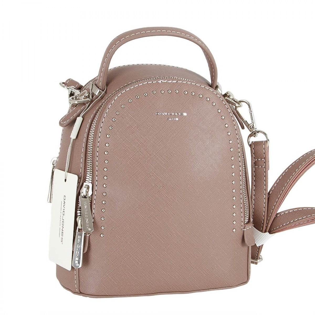 Жіночий рюкзак David Jones 5806-2 D.PINK