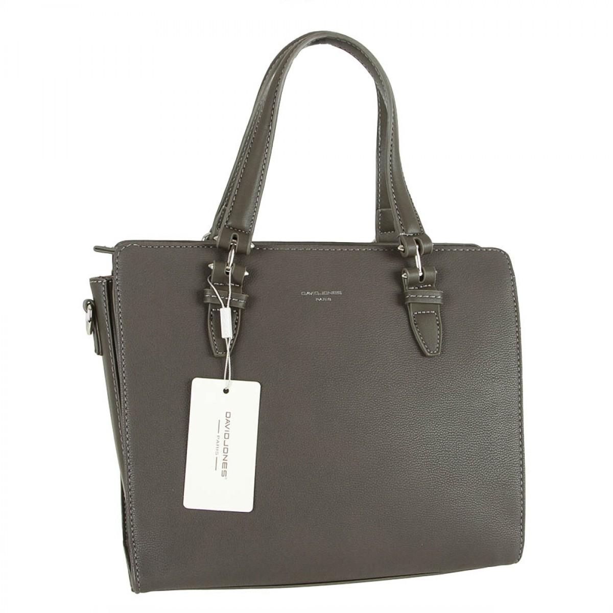 Жіноча сумка David Jones 5819-3 D.GREY