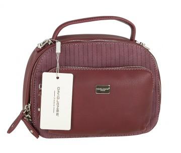 Жіноча сумка David Jones 5829-1 DARK BORDEAUX