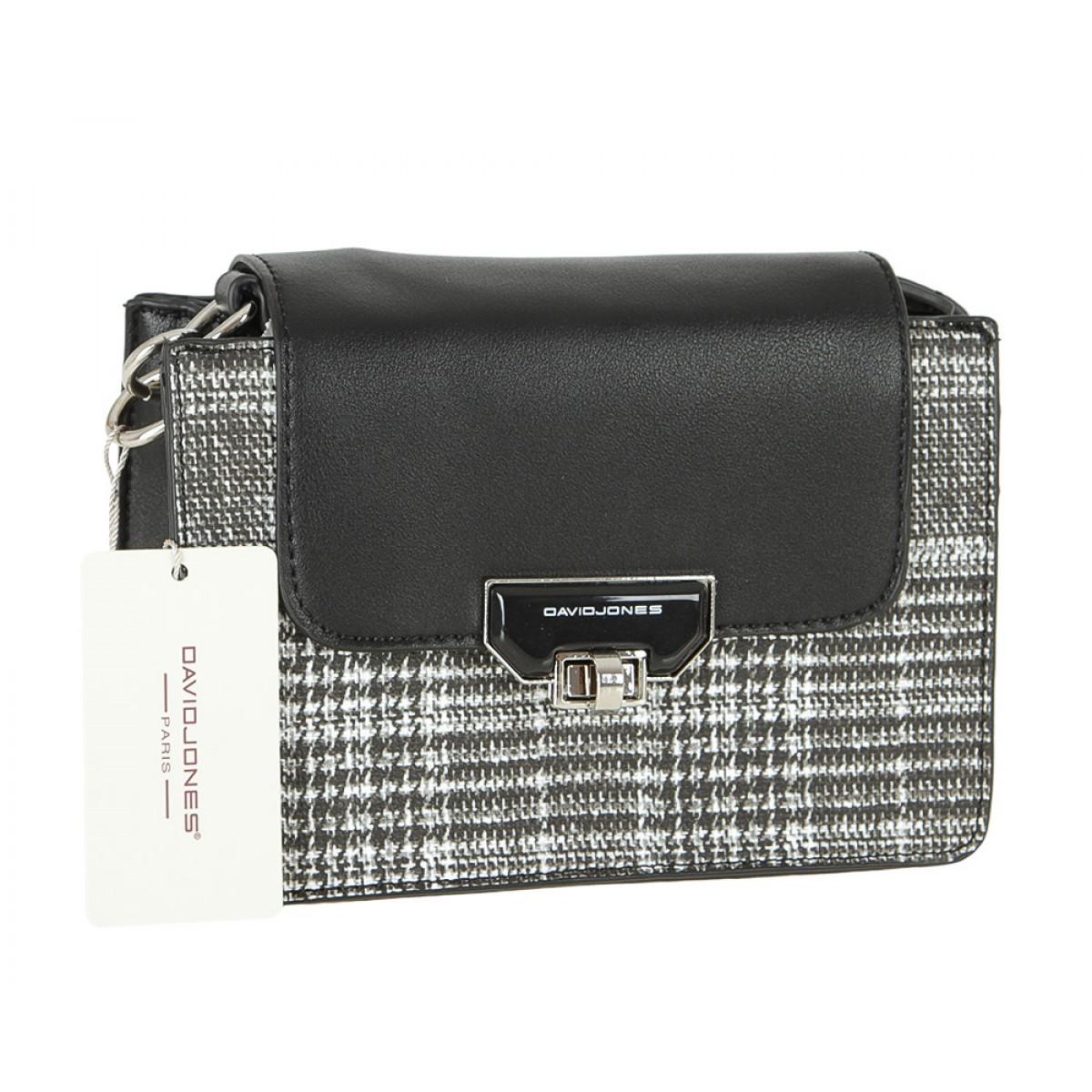 Жіноча сумка David Jones 5860-1 BLACK