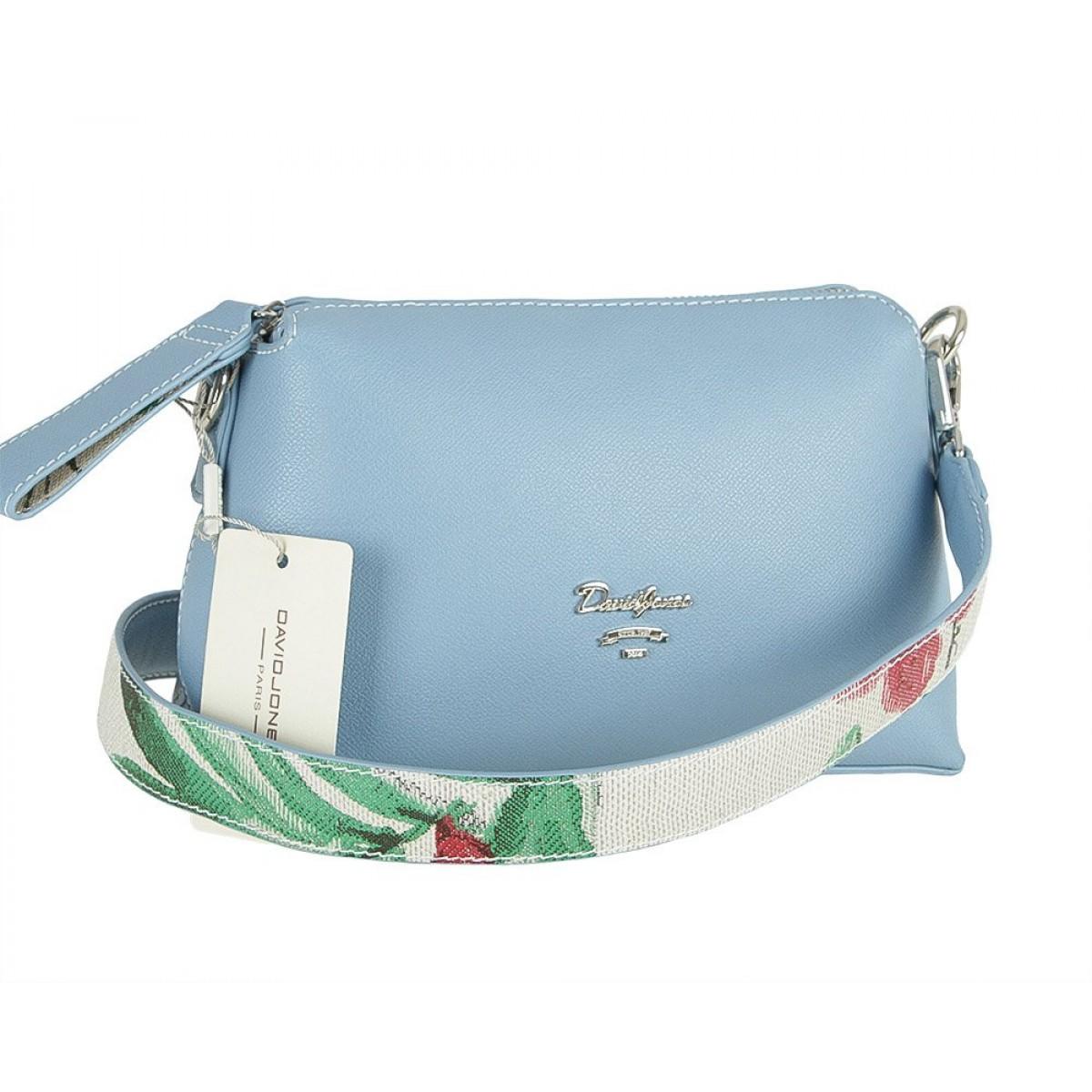 Жіноча сумка David Jones 5912-1 L.BLUE