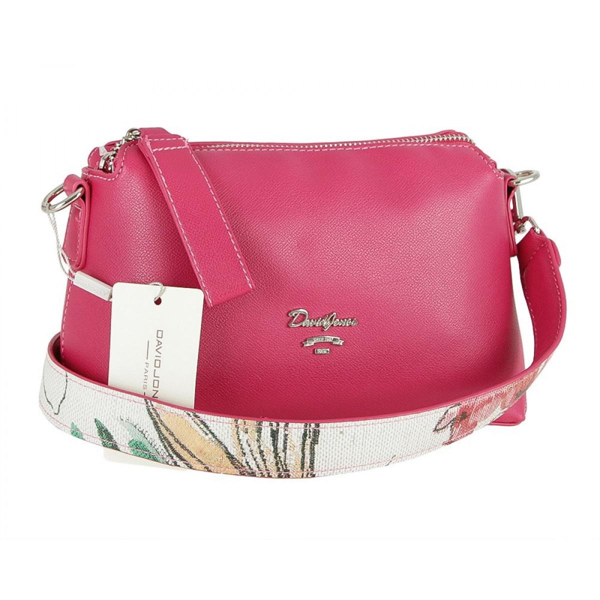 Жіноча сумка David Jones 5912-1 ROSE RED