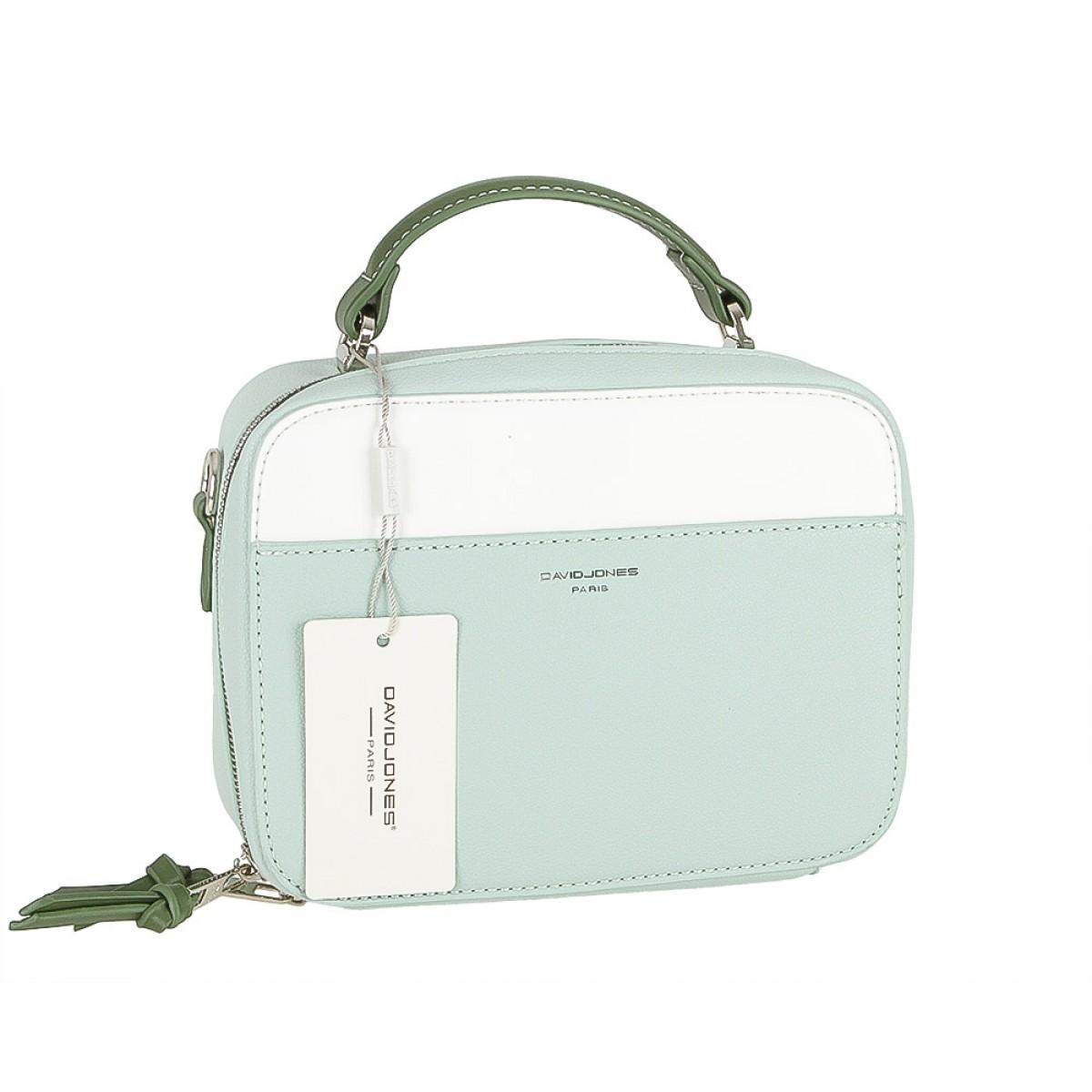 Жіноча сумка David Jones 5916-2 PALE GREEN