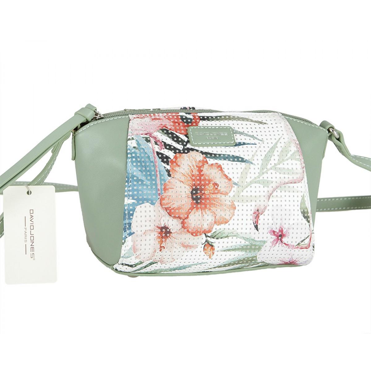 Жіноча сумка David Jones 5923-1A APPLE GREEN