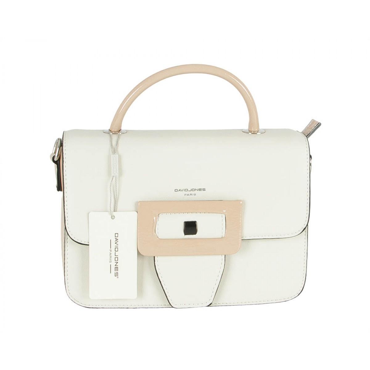Жіноча сумка David Jones 5927-2 WHITE