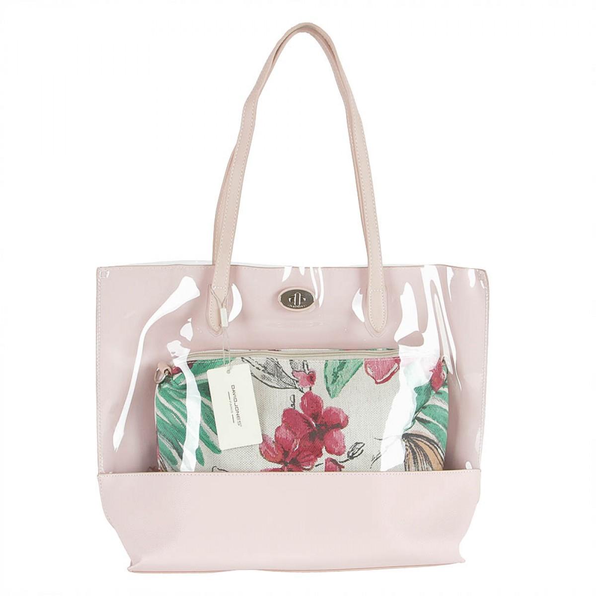 Жіноча сумка David Jones 5935A-2 PINK