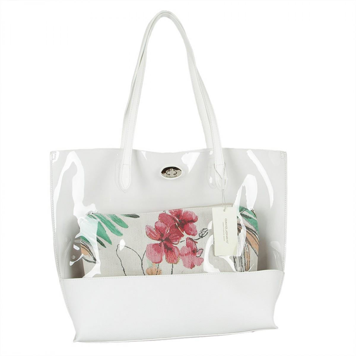 Жіноча сумка David Jones 5935A-2 WHITE