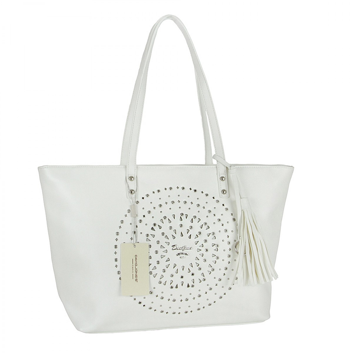 Жіноча сумка David Jones 5942-2 WHITE
