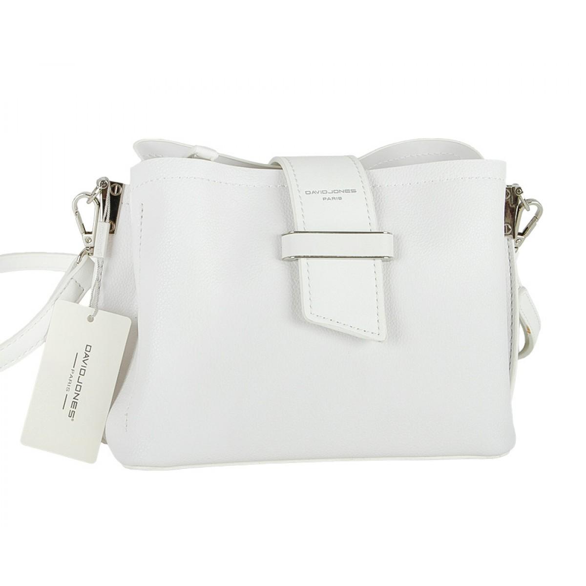 Жіноча сумка David Jones 5943-1 WHITE
