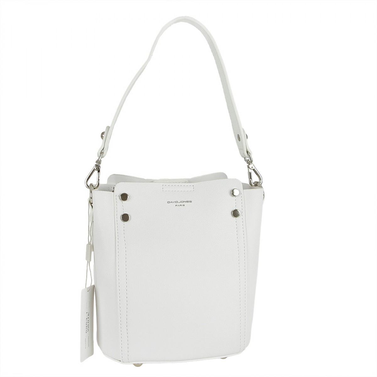 Жіноча сумка David Jones 5953-1 WHITE