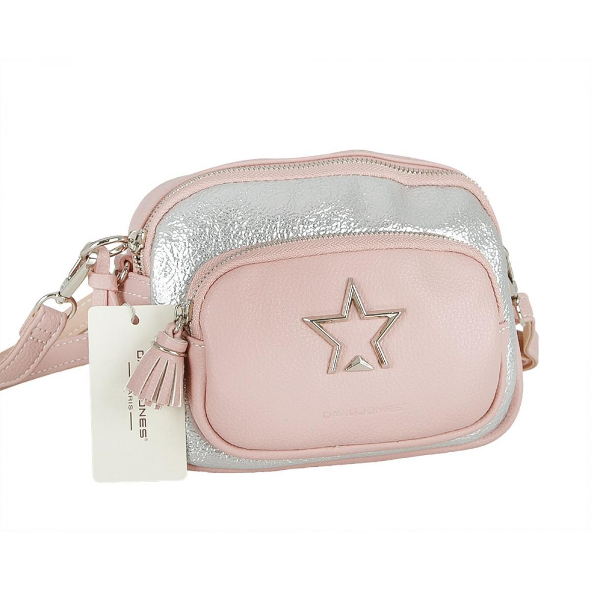 Жіноча сумка David Jones 5955-1 PINK