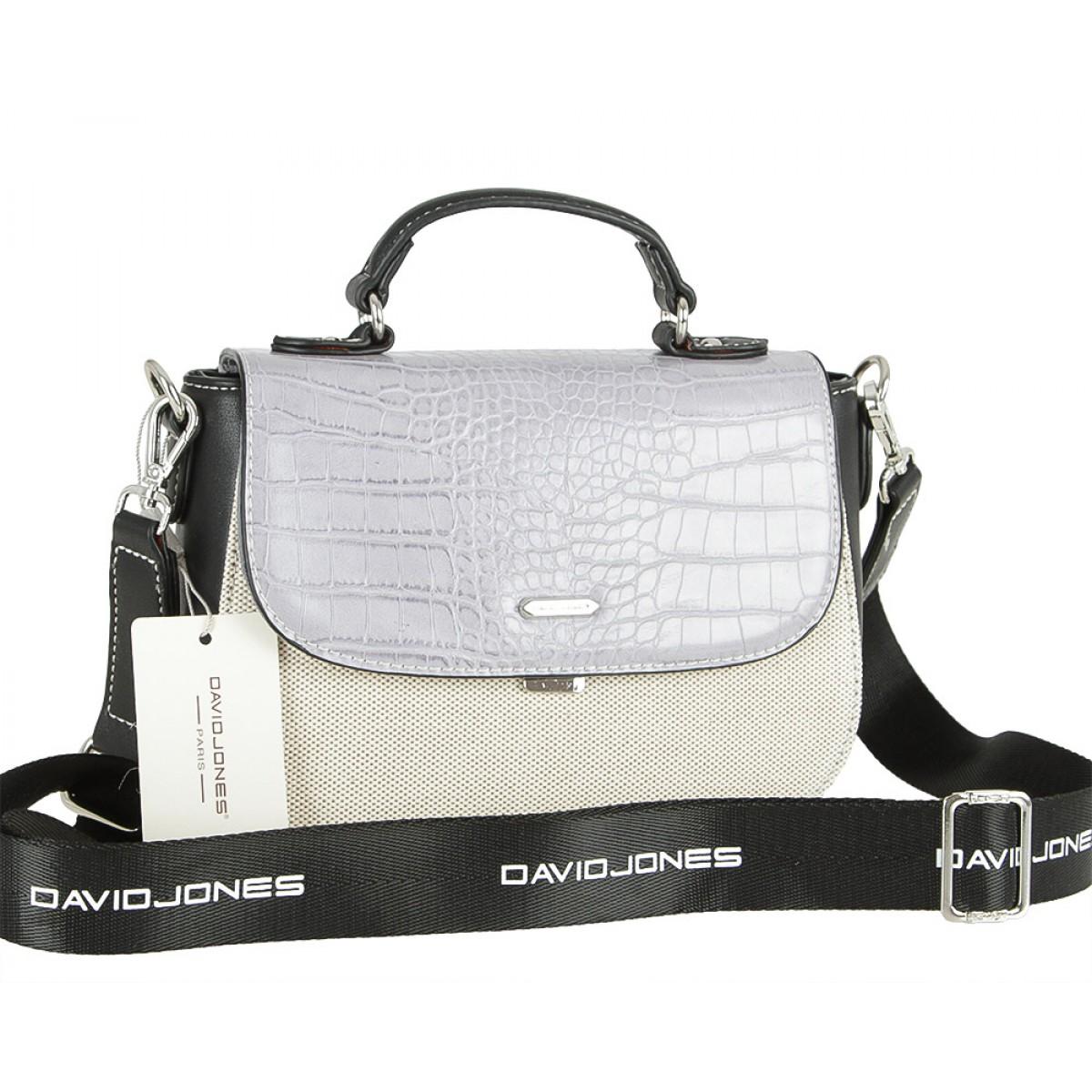 Жіноча сумка David Jones 5979-1 PALE PURPLE