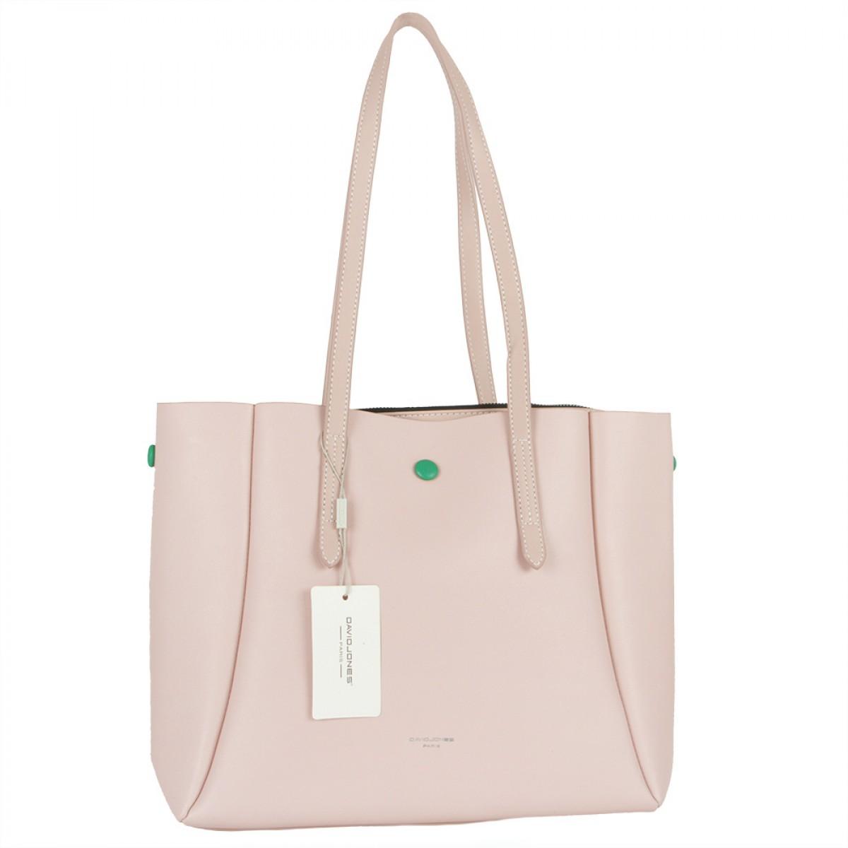 Жіноча сумка David Jones 5991-2 PINK
