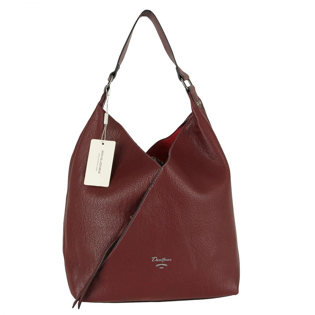Жіноча сумка David Jones 6102-1 DARK BORDEAUX