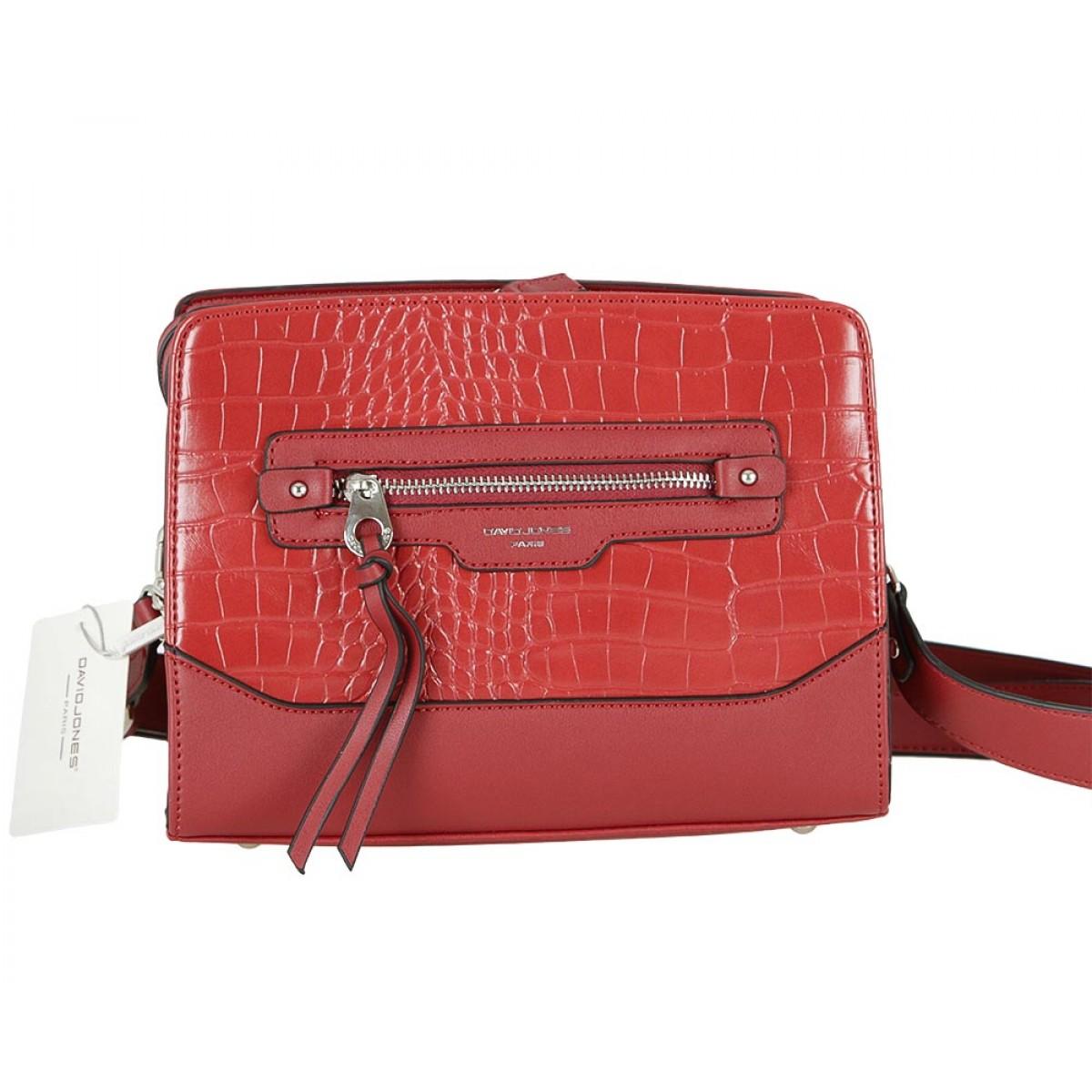 Жіноча сумка David Jones 6108-1 BORDEAUX