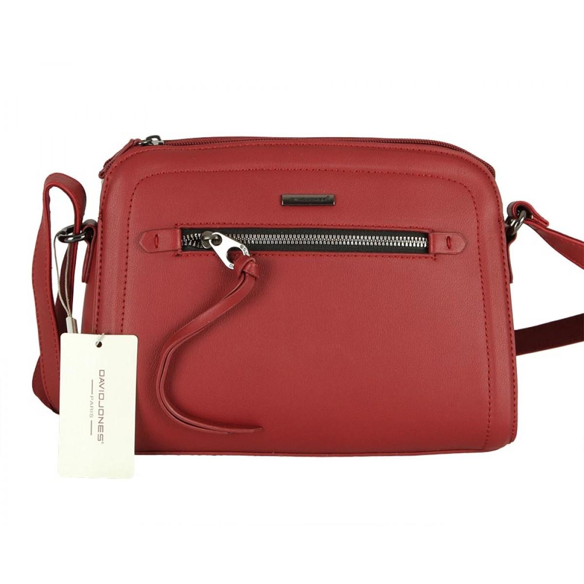 Жіноча сумка David Jones 6111-1 BORDEAUX