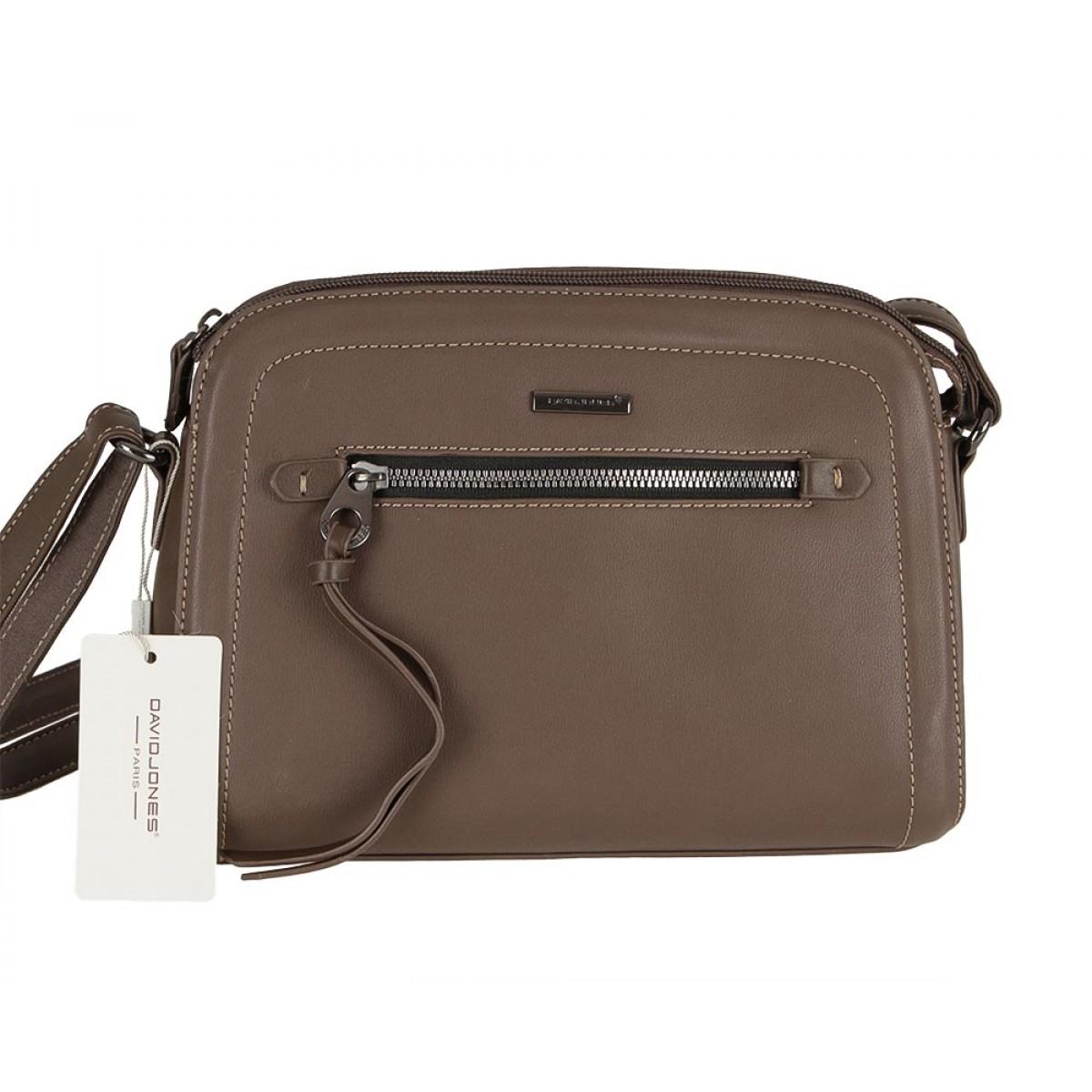 Жіноча сумка David Jones 6111-1 D.BROWN