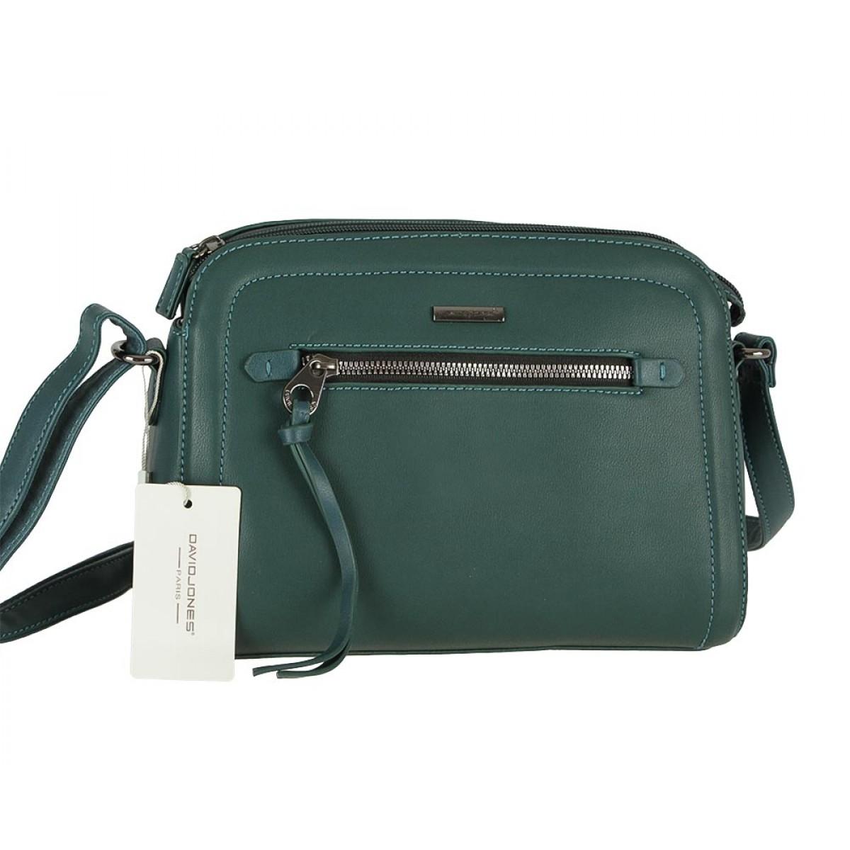Жіноча сумка David Jones 6111-1 D.GREEN