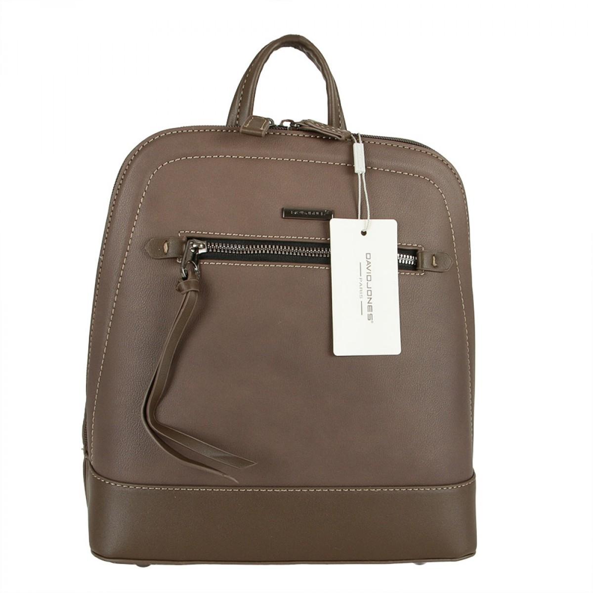 Жіночий рюкзак David Jones 6111-2 D.BROWN