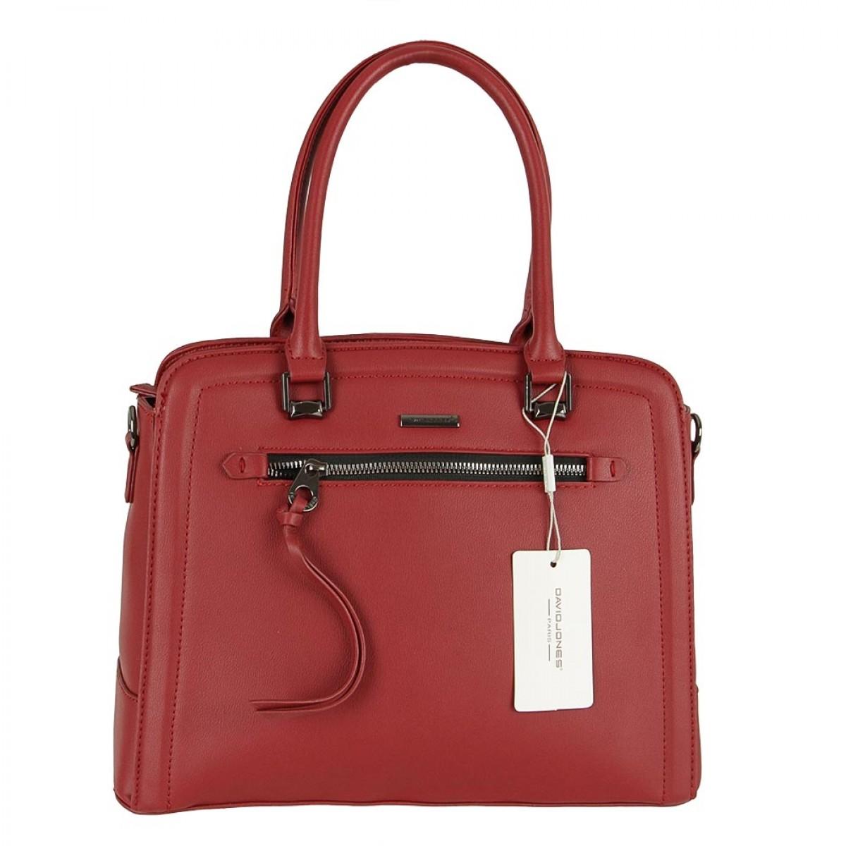 Жіноча сумка David Jones 6111-3 BORDEAUX