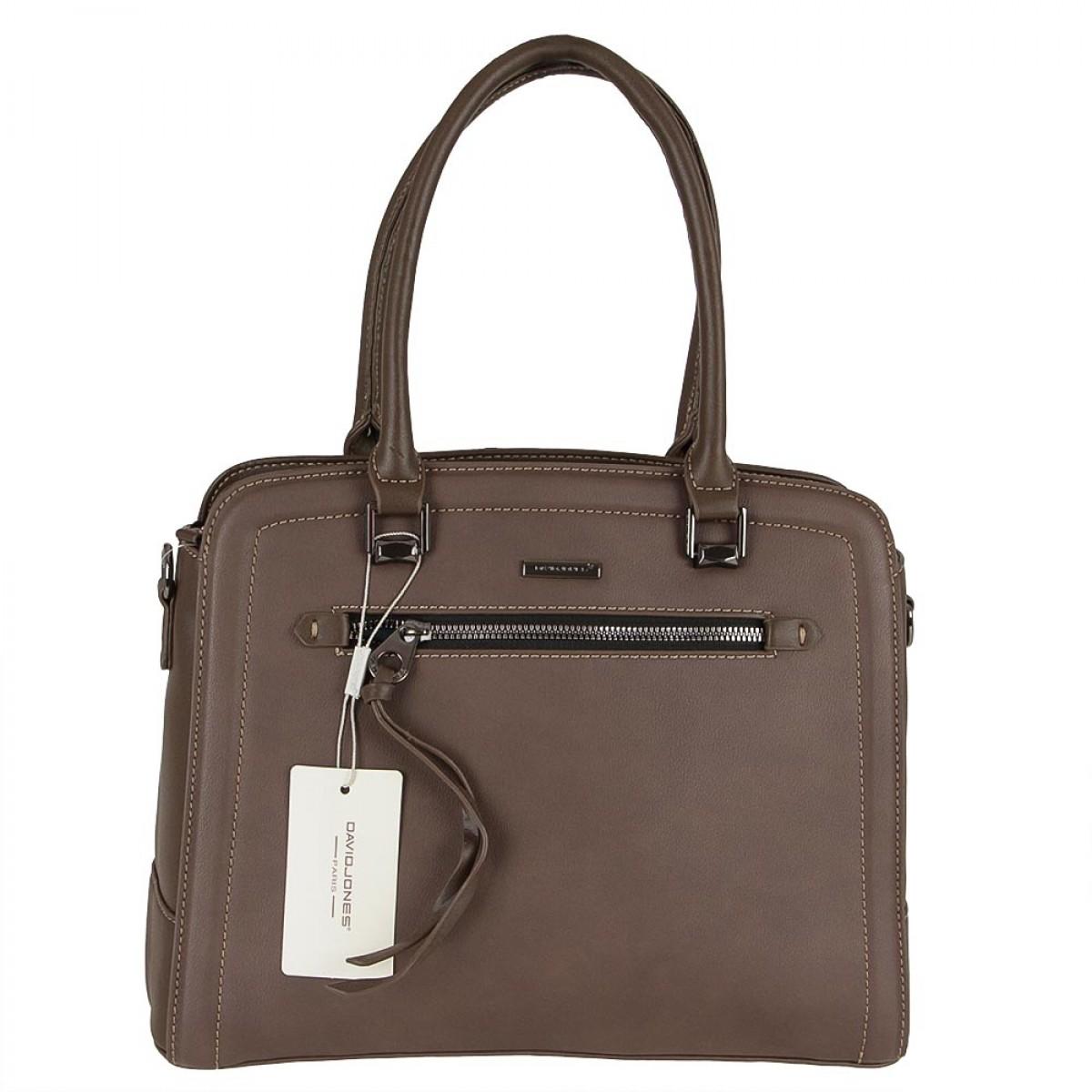 Жіноча сумка David Jones 6111-3 D.BROWN