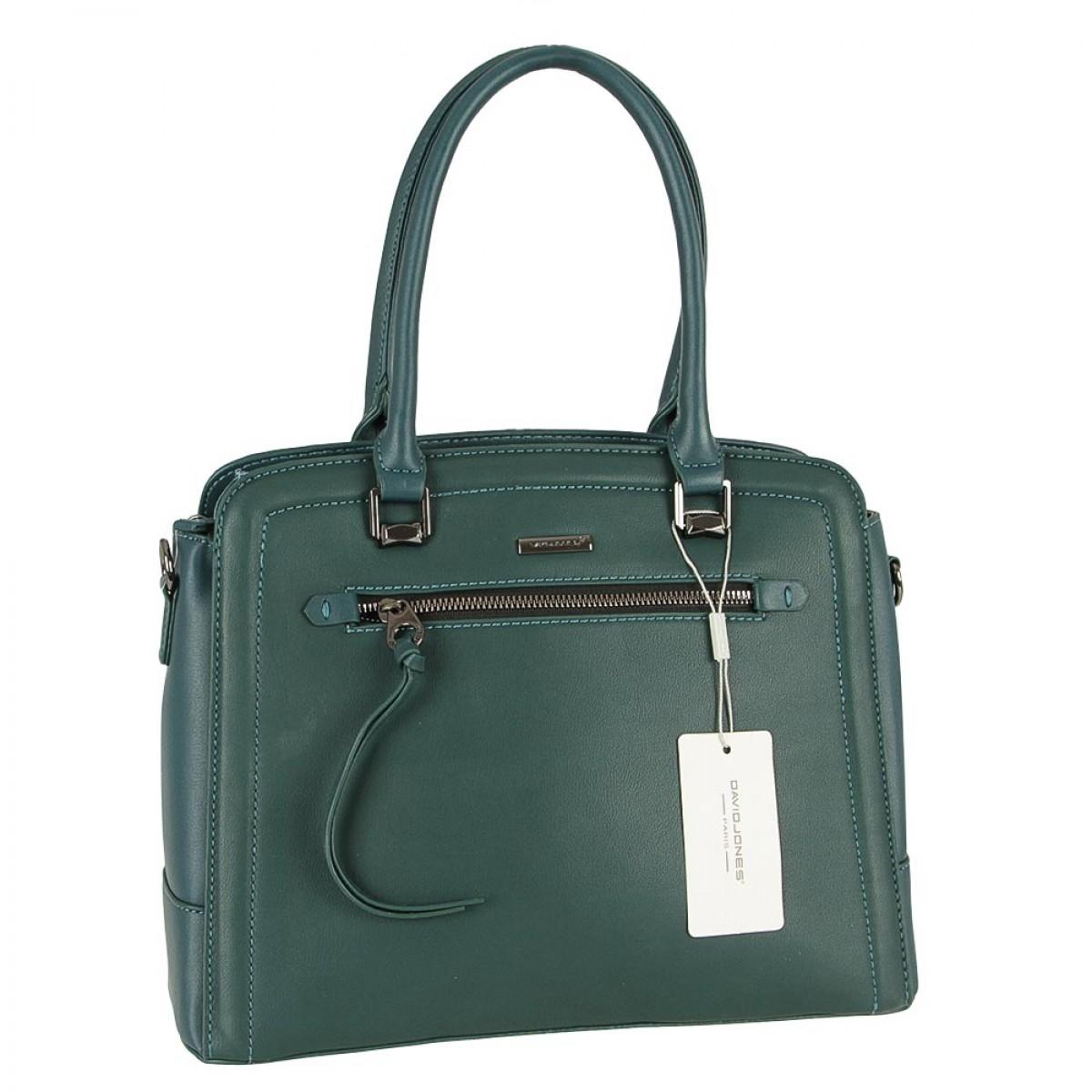Жіноча сумка David Jones 6111-3 D.GREEN