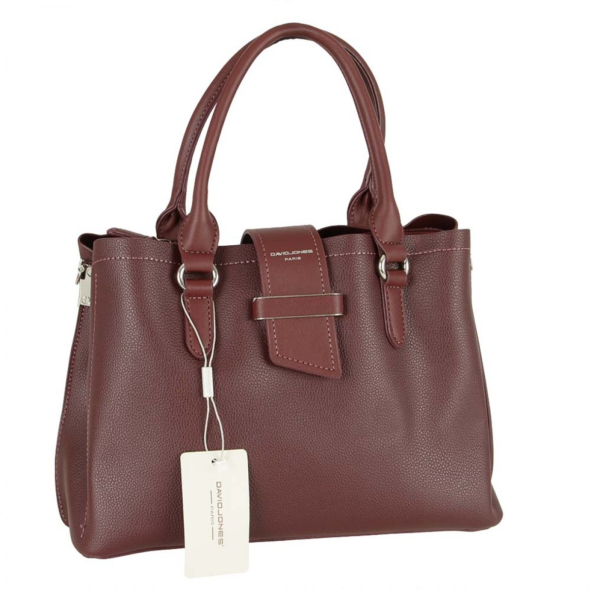Жіноча сумка David Jones 6118-2 DARK BORDEAUX