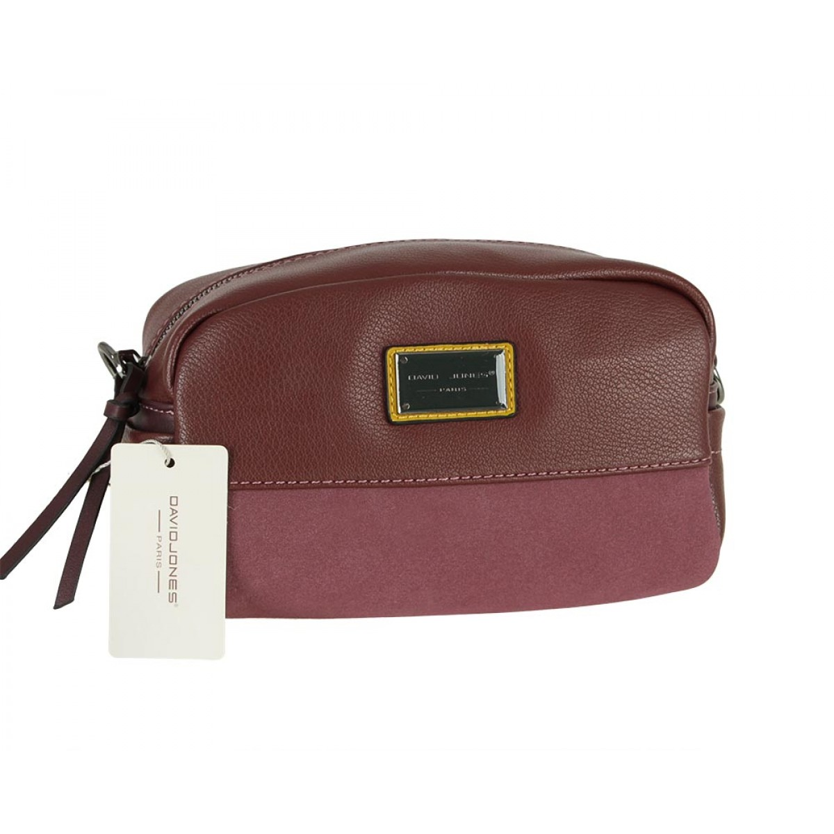 Жіноча сумка David Jones 6121-1 DARK BORDEAUX