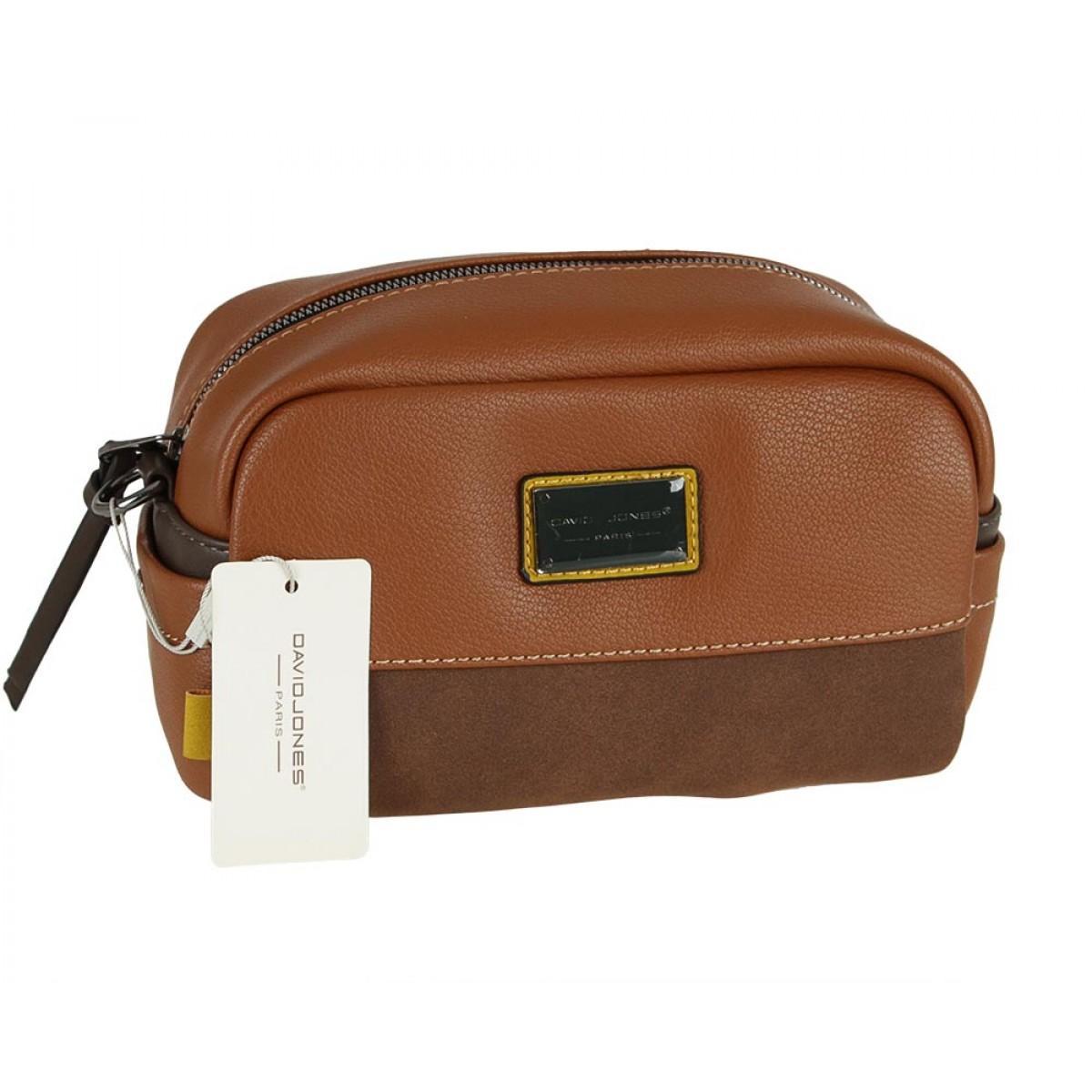 Жіноча сумка David Jones 6121-1 BROWN